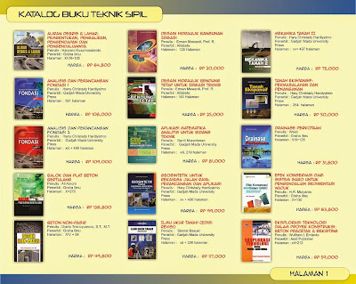 Katalog Buku teknik Sipil Halaman 1