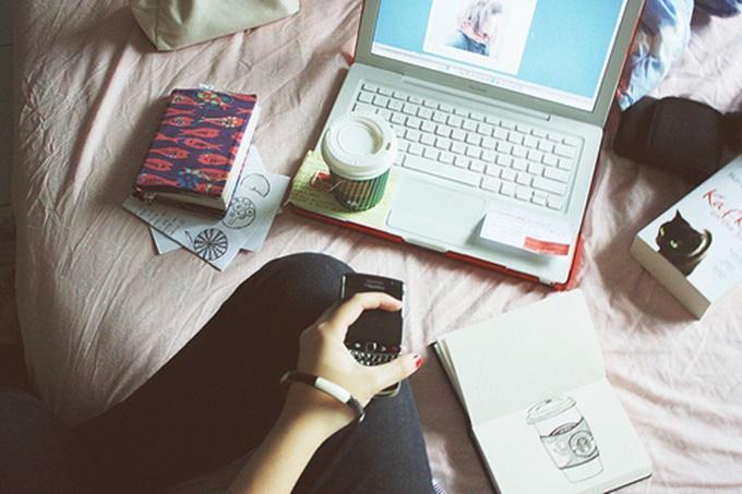 organização com o blog