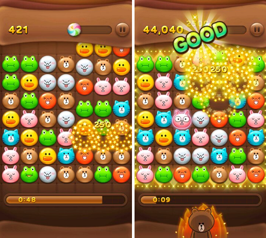 LINE POP APK / APP Download,好玩的 LINE 遊戲推薦下載