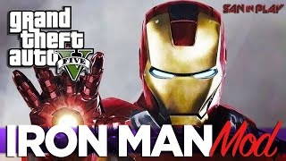 GTA V PC IRON MAN MOD! - Como Instalar! | GTA V NOTICIAS E MODZ