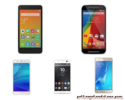 Cek Daftar Harga Handphone Samsung, Sony, Oppo, Motorola, Xiaomi Terbaru Maret 2017