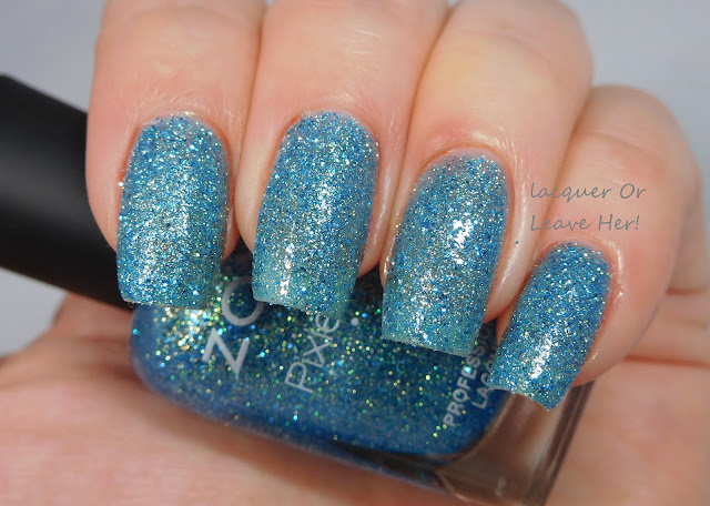 Zoya Bay with topcoat