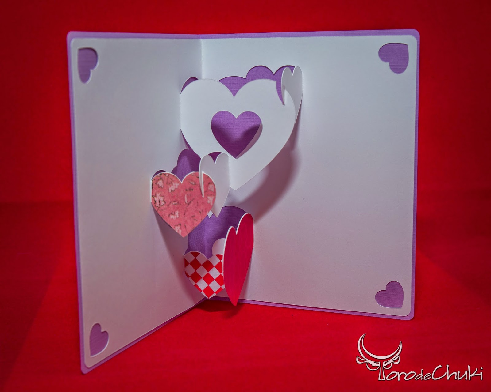 Awesome Svgs Tangled Hearts Kirigami Valentine S Day Card