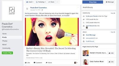 Barbie's Beauty Bits as seen in Paula Dorf Cosmetics