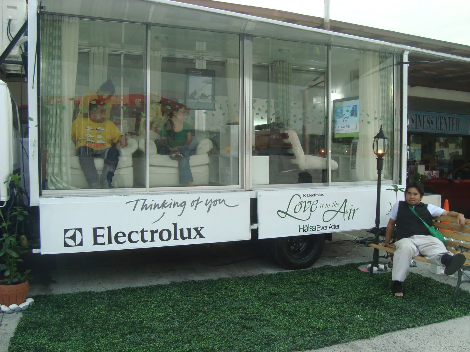 Take A Break At The Electrolux Mobile Spa Have Model Habcf024sd After Power Outage Last Night And With Holy Week We Would Also Encounter Lot Of Stress Sometimes More Than Vacation That Plan To