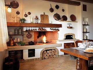 Decoración cocina estilo rústico