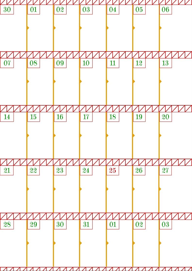 Calendario Pulizie.Nata Disorganizzata Avvento Senza Turbamento 10 Il Calendario
