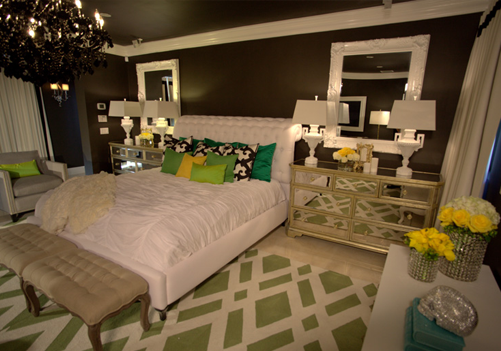 All White Rooms With Splash Of Color Dream House