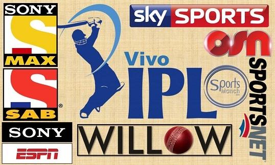 IPL 11 Live broadcasting
