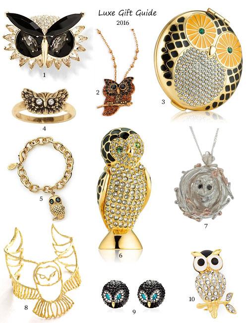 My Owl Barn Luxe Owl Gift Ideas 2016