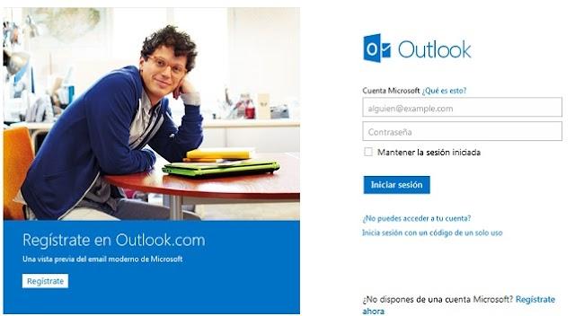 Crear Cuenta Outlook
