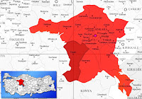Polatlı ilçesinin nerede olduğunu gösteren harita