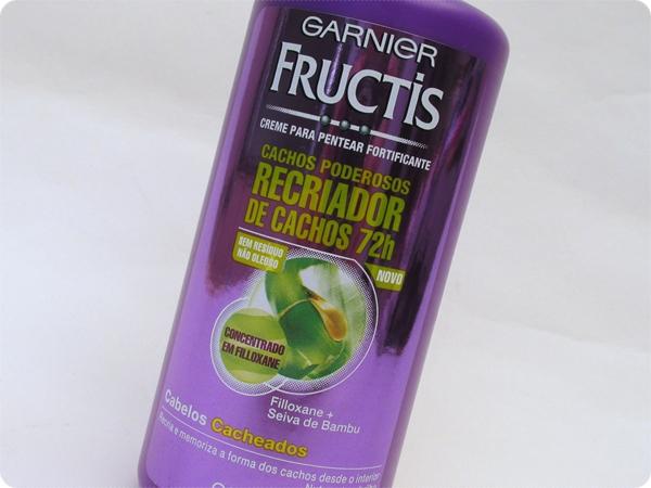 Creme para Pentear Fructis Cachos Poderosos