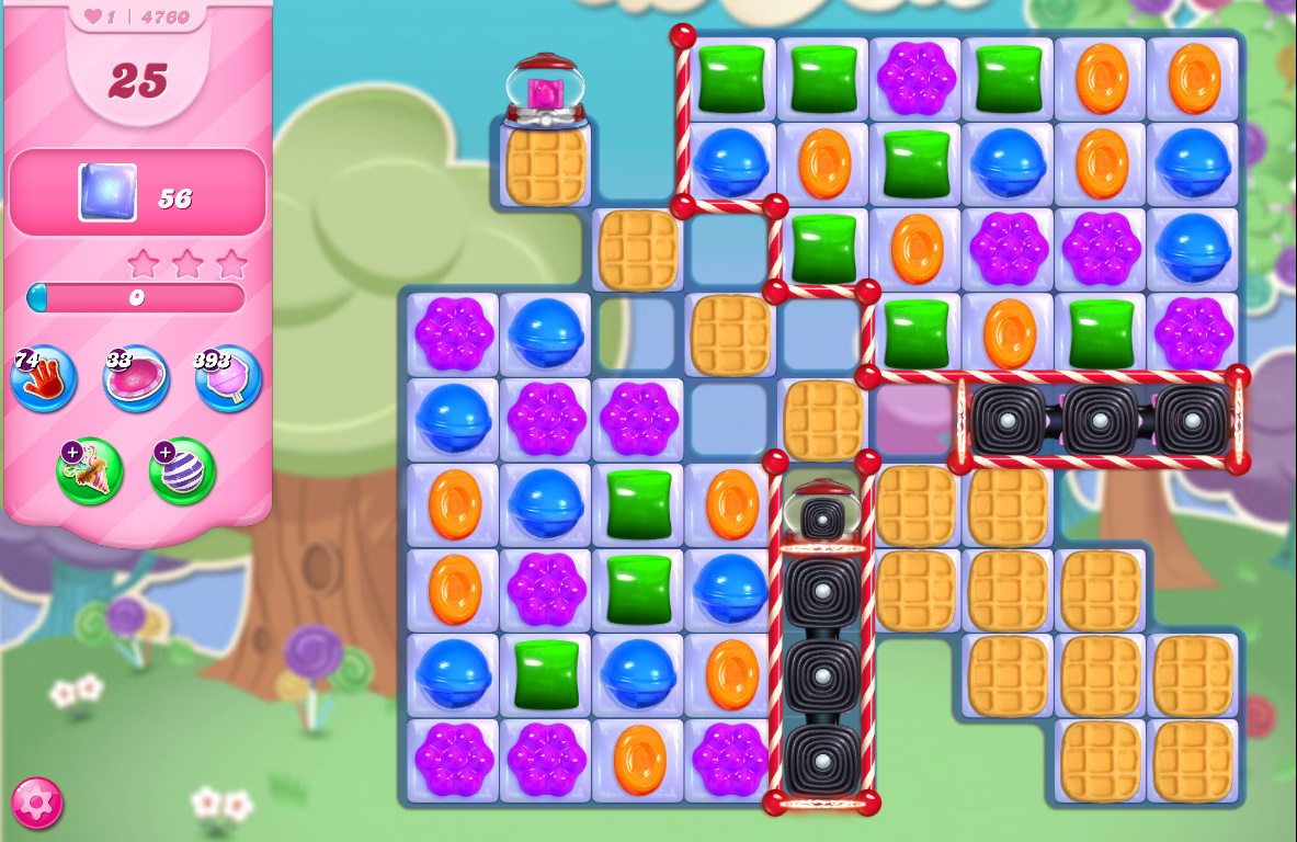 Candy Crush Saga level 4760