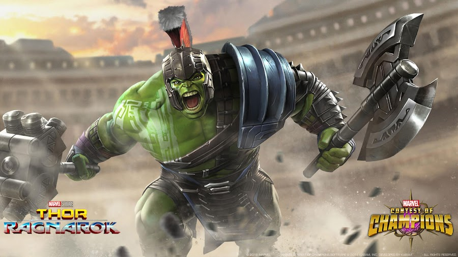 hulk ragnarok marvel contest of champions