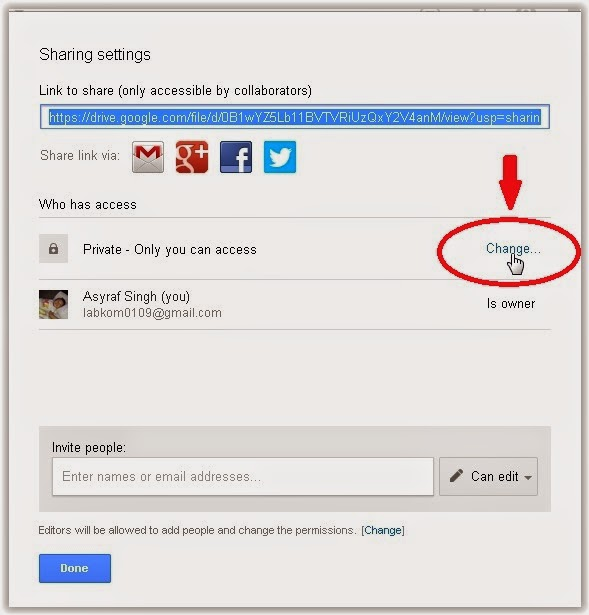 how to view shared files in google drive
