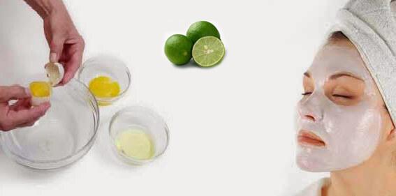 Cara Memutihkan Kulit Wajah Secara Alami dengan Cepat putih telur dan jeruk nipis