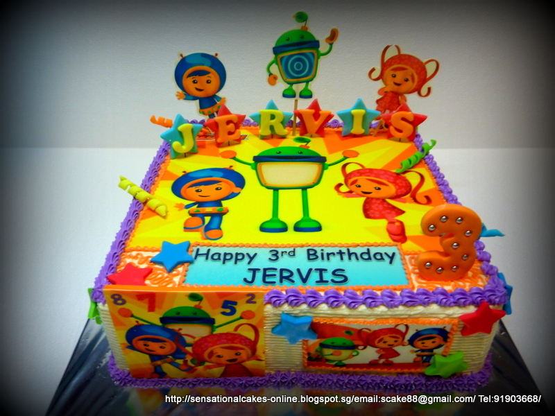 Team Umizoomi CAKE SINGAPORE