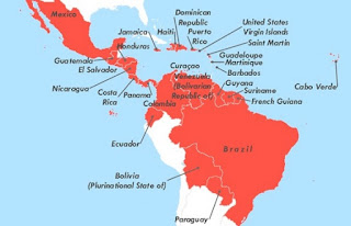 The Zika virus is known to circulate presently in North and South America, Asia, and the Pacific. The only country in Africa known to have a Zika transmission is Capo Verde.