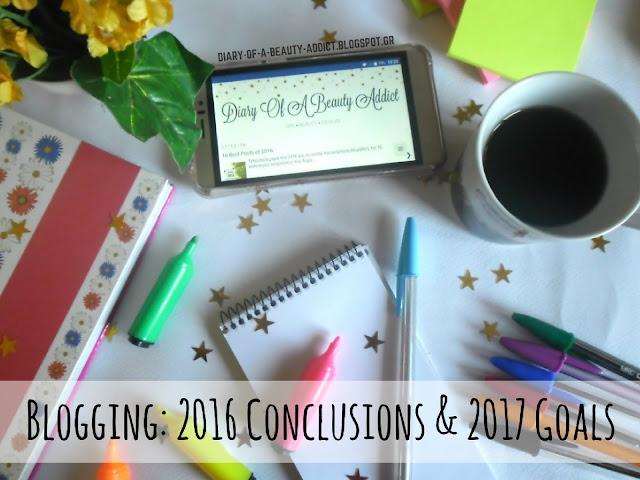 Blogging: 2016 Conclusions & 2017 Goals