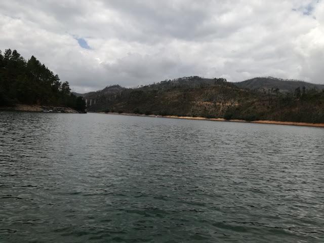 águas Barragem castelo de Bode