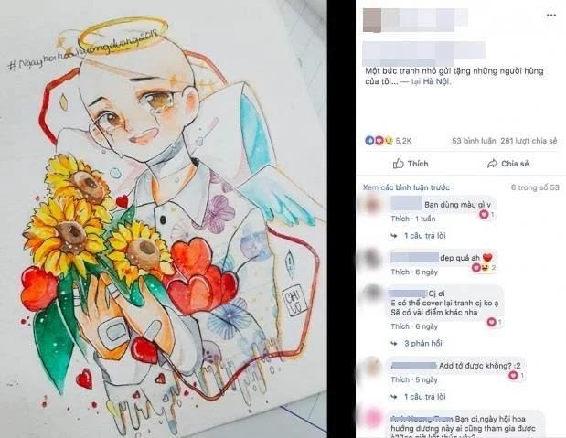 Sự thật về việc chia sẻ hình hoa hướng dương: Có thật sự giúp đỡ được bệnh nhi ung thư?