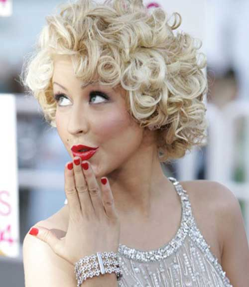 44 Hairstyles For Short Curly Blonde Hair Top Inspiration