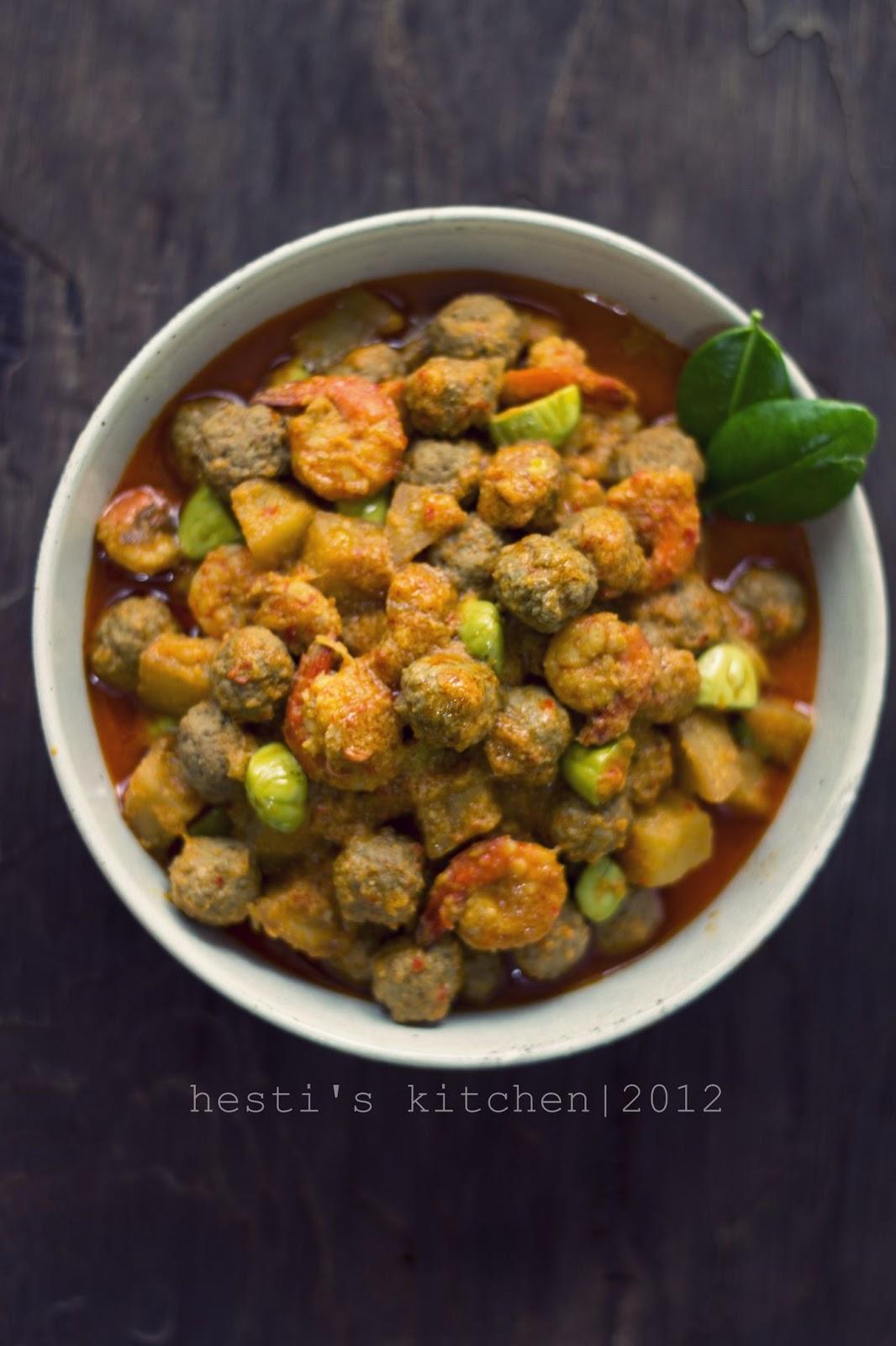 Resep Sambal Goreng Daging : resep, sambal, goreng, daging, HESTI'S, KITCHEN, Yummy, Tummy:, Sambel, Goreng, Printil