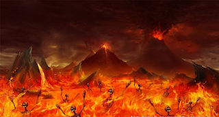 souls in lake of fire