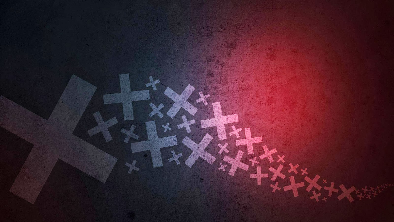 Fondo De Pantalla Abstracto Corriente De Cruces: Fondo De Pantalla Abstracto Corriente De Cruces