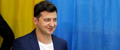 Volodymyr Zelenskiy Won Ukraine Presidential Election