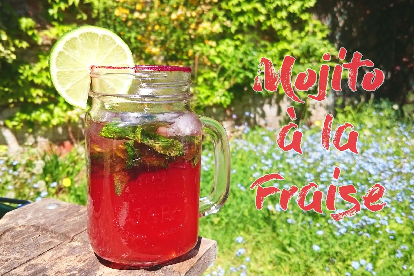 Extrêmement Happy Hour : Mojito fraise - Lulalovegood SK81