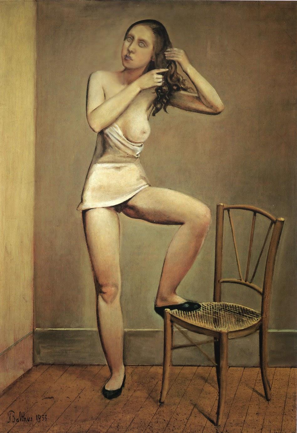 Alice no Espelho - Balthus e sua fixação por garotas e gatos ~ Pintor francês