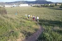 Entrenamiento de carrera en nuestro circuito de tierra