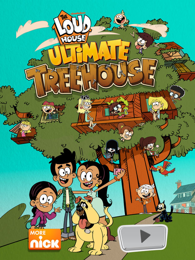 Play It Loud Loud House : house, NickALive!:, Casagrandes, House, Ultimate, Treehouse, Preview