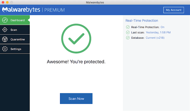Malwarebytes Anti-Malware for Mac Free Download latest version