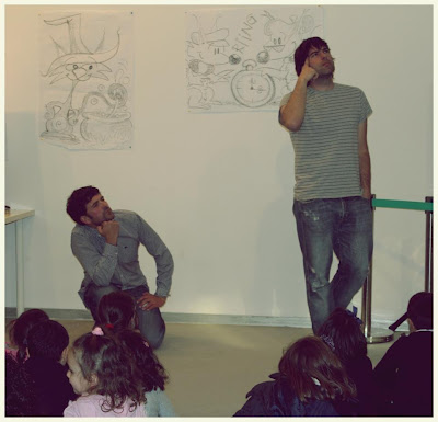 Polo Correo do Vento, Salón do Libro Infantil e Xuvenil de Pontevedra, 12mais1