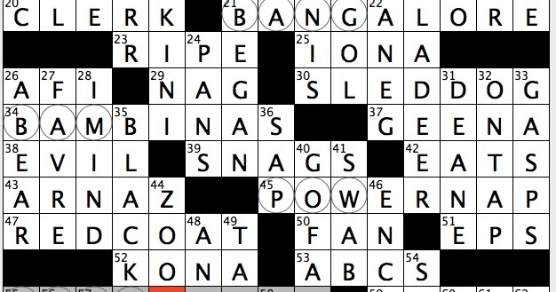 letter indian city name puzzle rex does the nyt crossword puzzle 2015 whitey 11