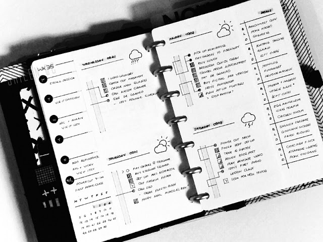 Minimal Bullet Journal Template