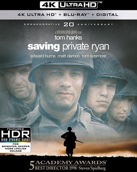 Saving Private Ryan 4K (Rescatando al Soldado Ryan 4K) (1998) 2160p 4K UltraHD HDR BluRay REMUX 70GB mkv Dual Audio Dolby TrueHD ATMOS 7.1 ch