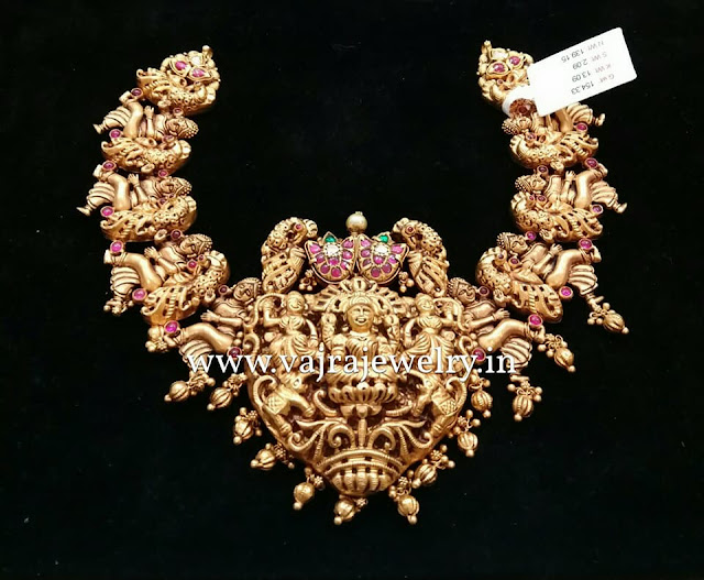 Exclusive Laxmi Necklace by Vajra Jewelry