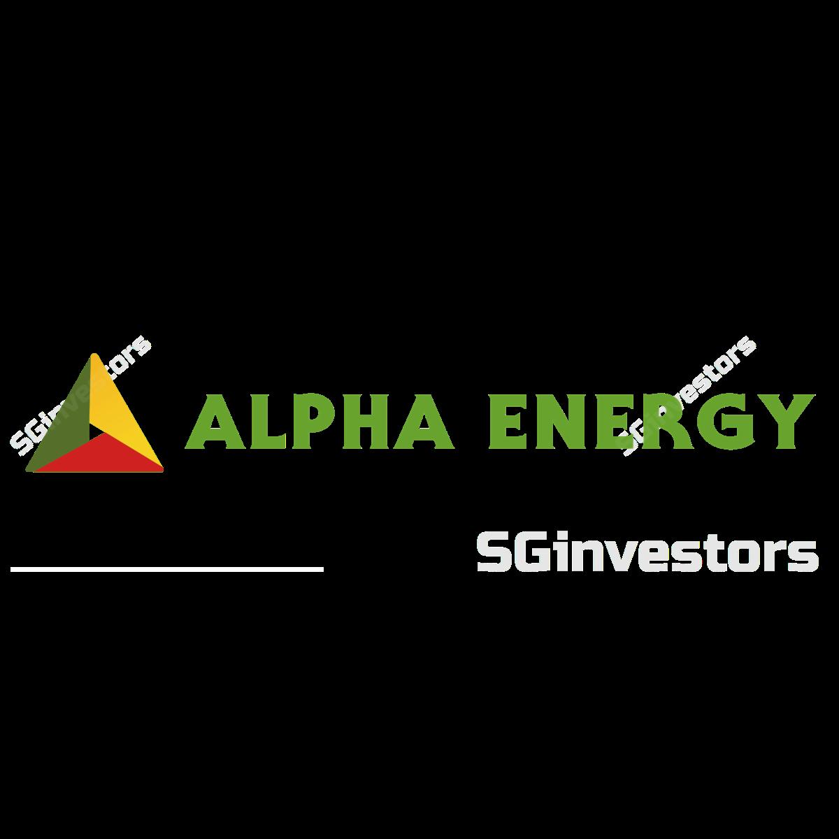 alpha energy share price history sgx 5ts sg. Black Bedroom Furniture Sets. Home Design Ideas