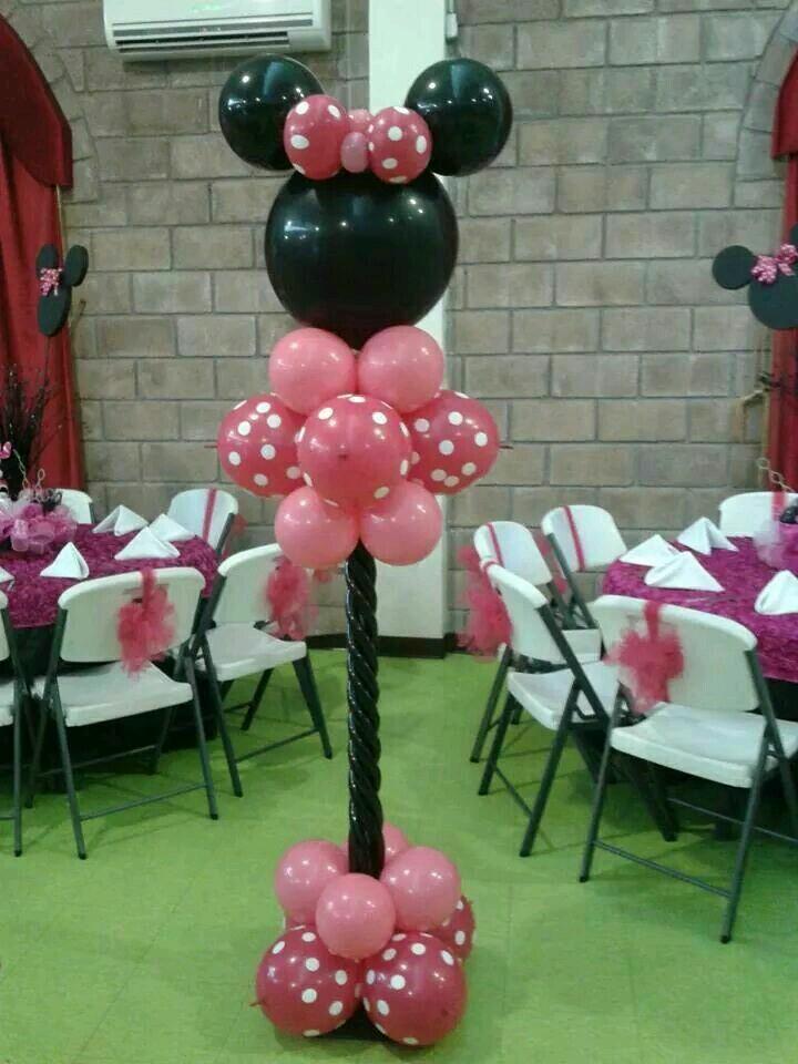 De Hacer Como De Un Mesa Centro Minnie Mouse