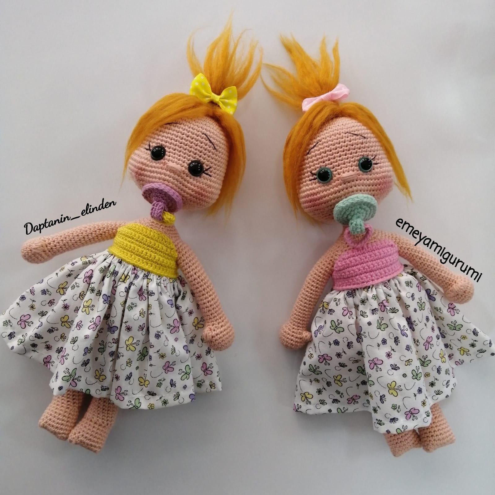 Amigurumi oyuncak bebek yapımı anlatımlı modelleri | 1599x1599