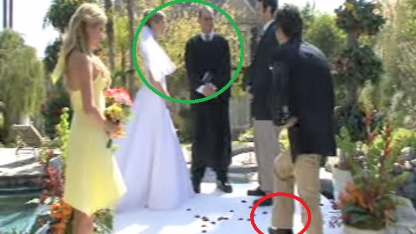 cargarse una boda en 5 segundos