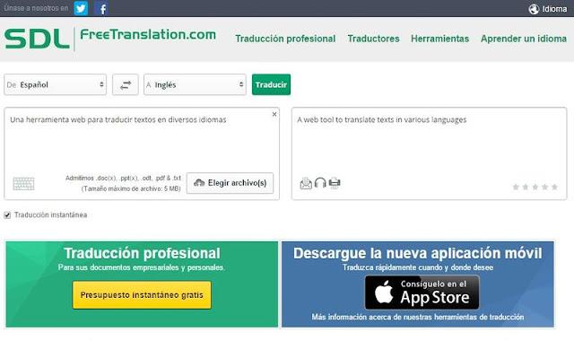 sdl free translator untuk pragraf