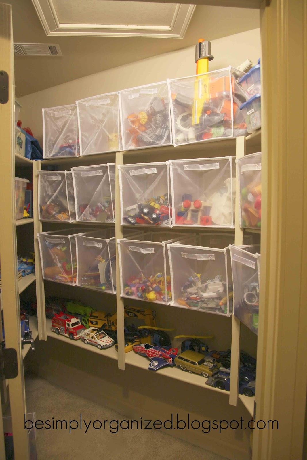 playroom & toy organization - simply organized