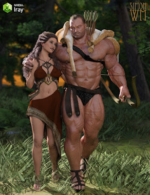 Hercules HD for Genesis 3 Male