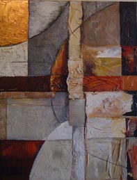 cuadros abstractos verticales