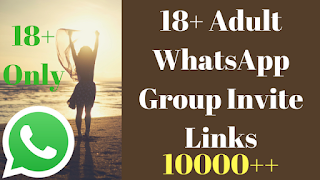Adult WhatsApp group invite links